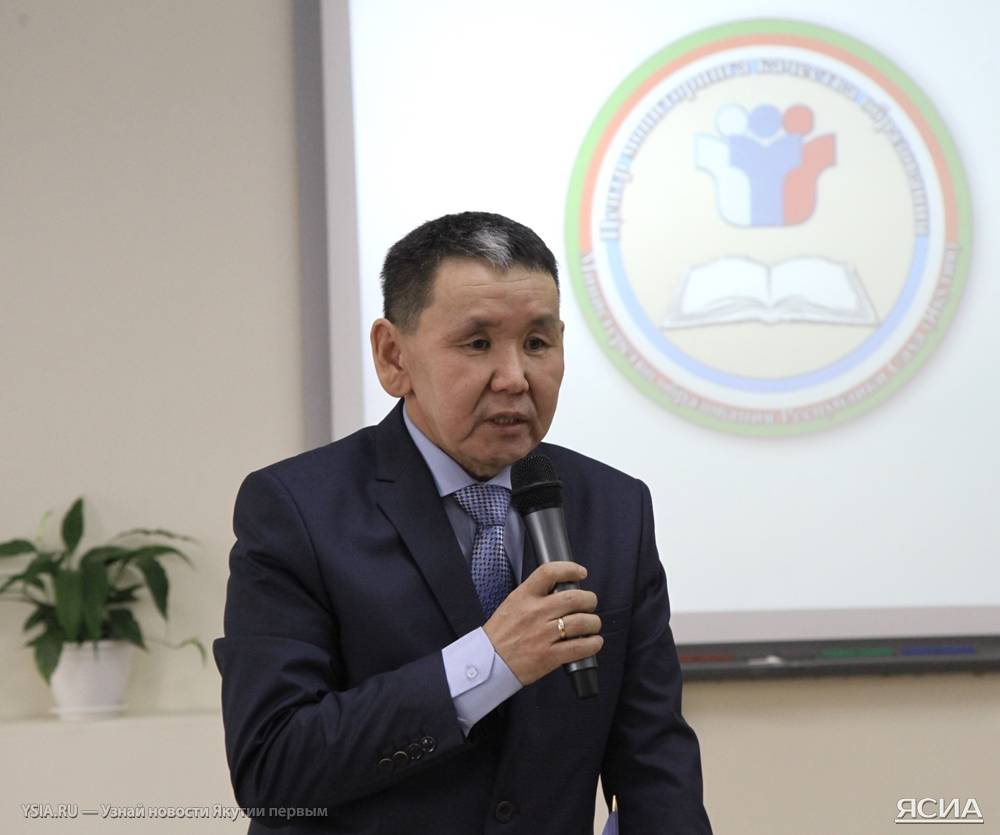 Заместитель министра образования Якутии Василий Гуляев