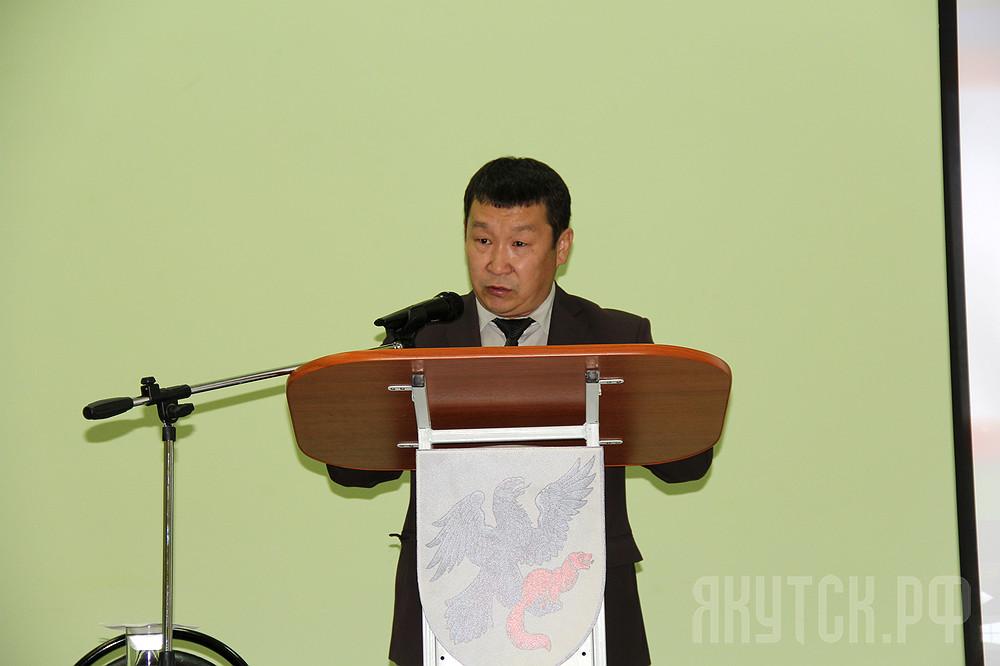 Первый заммэра Якутска Дмитрий Садовников