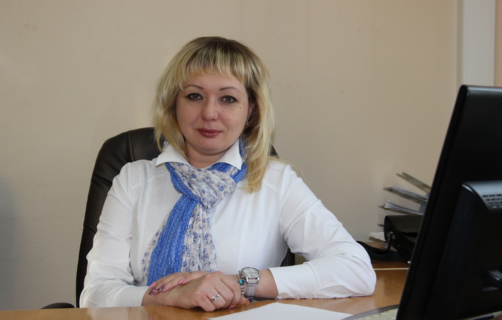 Директор Мирнинского молокозавода Татьяна Шарова
