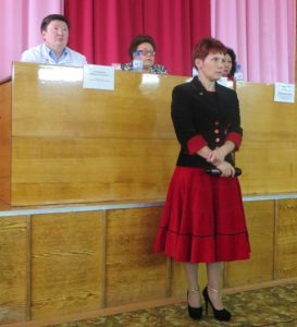 Председатель первичной профорганизации в НЦРБ Ирина Лылова