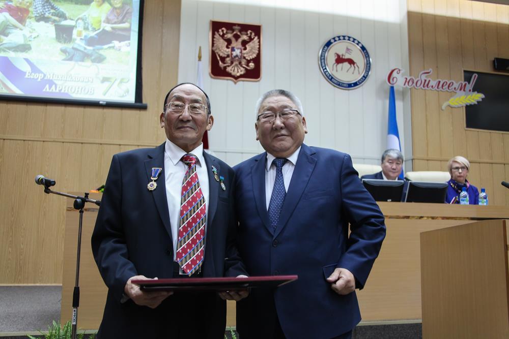 якутске награждение знаком 2018 гражданская доблесть в